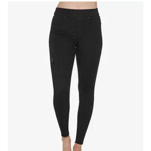 Spanx black Distressed Ankle Skinny Jeans  XL